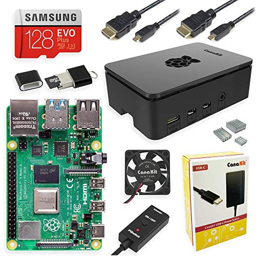 CanaKit Raspberry Pi 4 8GB Extreme Kit - 128GB Edition (8GB RAM) Missouri