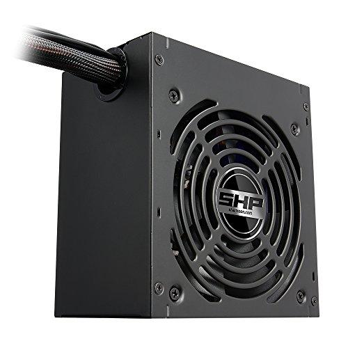 Sharkoon SHP650 V2 PC Netzteil 650 Watt 80 Zertifizierung ATX schwarz