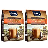 Owl 3-in-1 Freeze-Dried premium Blend White Coffee Tarik -Original 19 oz