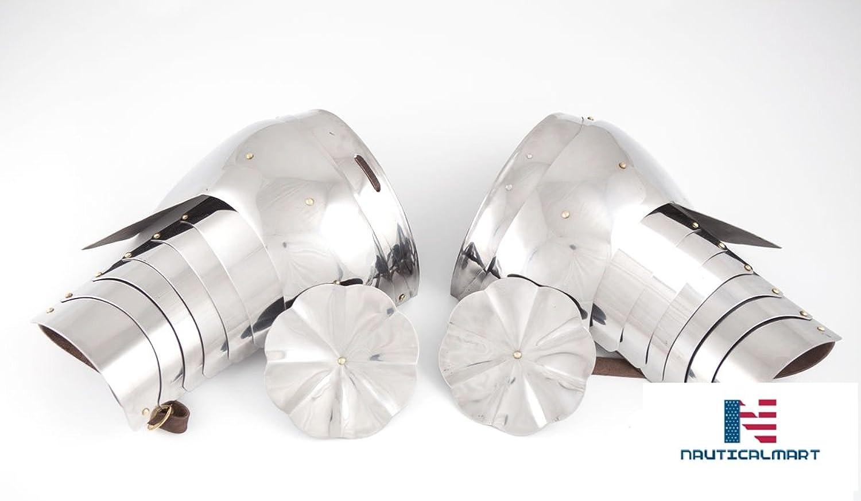 NAUTICALMART Medieval Plate Armor Pauldrons
