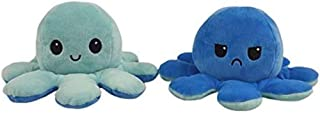 1pcs Reversible Octopus Double Sided Plushie Soft Plush Toy Pillow Pet Animal Doll Birthday Gift Flip Toy Companion Toy Pl...