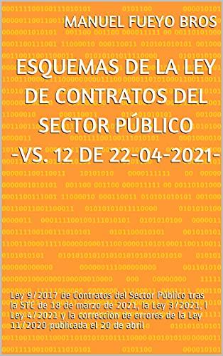 Esquemas de la Ley de Contratos del Sector Público: Ley 9/2017 de Contratos del Sector Público tras la Sentencia del Tribunal Constitucional de 18 de marzo de 2021 -vs. 11 de 01/04/2021-