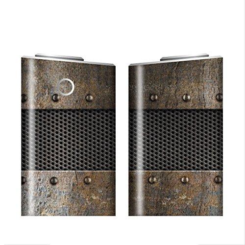 グローシール glo グロー シール glo グロー専用 スキンシール 電子タバコ ステッカー 10 メタル METAL 01-gl0048