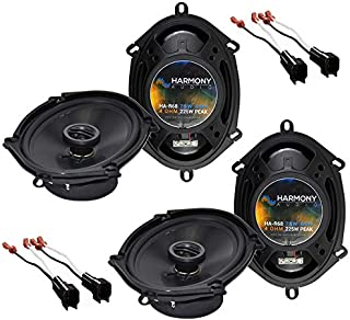 Harmony Audio R68 OEM Speaker Upgrade Package Compatible with Ford F-250/350/450/550/650/750