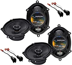 Sponsored Ad - Harmony Audio R68 OEM Speaker Upgrade Package Compatible with Ford F-250/350/450/550/650/750