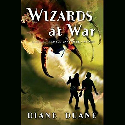 Wizards at War audiobook cover art