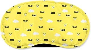 Super Hero Masks Yellow - Sleeping Mask - Sleeping Mask