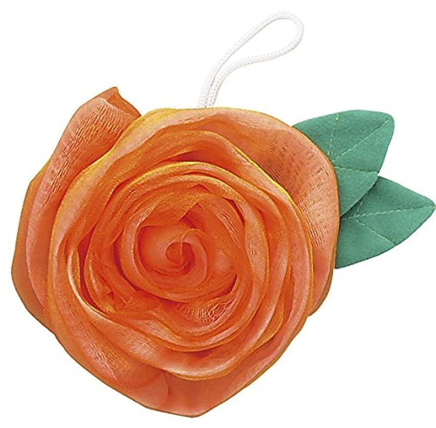 偏差カエル行為フジインターナショナル エレガントローズ 薔薇のボディスポンジ ゴールド BS-G