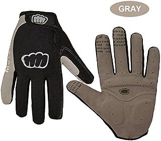 H, M : Autumn Winter Outdoor Cycling Full Finger Screen Touch Gloves Motocross MTB Women Men Sports Riding Gloves 2017 Handschuhe
