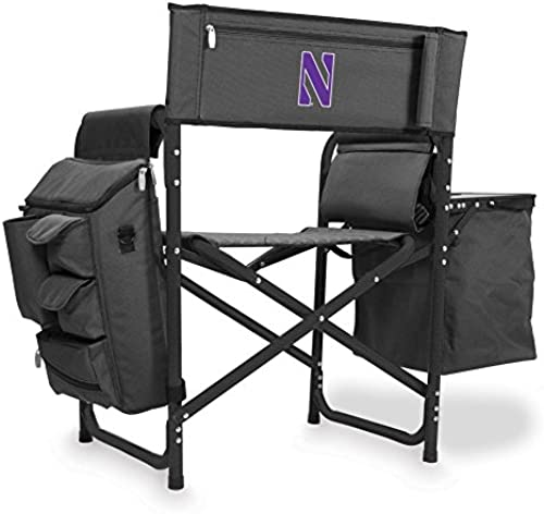 Picknick Zeit Fusion Chair-dk (Northwestern Universit  Digital Bedruckt, dunkelgrau Schwarz One Größe