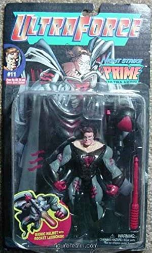 UltraForce Ultra 5000 Night Strike Prime Action Figure by Galoob