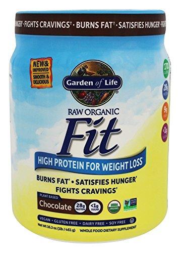 Garden of Life - De alto valor proteico orgánico CRUDO para el cacao crudo verdadero del chocolate de la pérdida del peso - 1 libra.