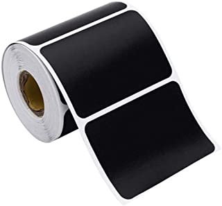 300PCS/Set Chalkboard Labels Stickers Waterproof Removable Rectangle Blackboard Stickers Pantry Labels for Containers Jars...