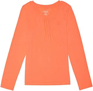 Girls' Long Sleeve Crew Neck Tee Shirt