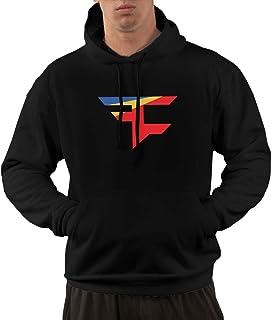 7dad52b34 Ytonnas Mens Pullover Hoodie, Faze Clan Team Logo Hooded Sweatshirt  Aesthetic Hoodies for Men