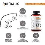 animaux - Omega Complete Cats, Comprimés d'huile de Poisson pour Chats. Acides Gras oméga 3, 6 et 9 pour Soutenir Le métabolisme, système cardiovasculaire et pour la Peau et Le Pelage #1