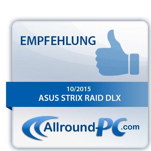 ASUS PCI-Ex Gaming Strix Raid DLX. Scheda Audio a 7.1 Canali, Nero/Antracite