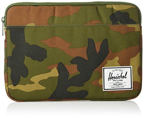 Herschel Anchor Sleeve for MacBook/iPad, Woodland Camo/Woodland Camo, 13-Inch