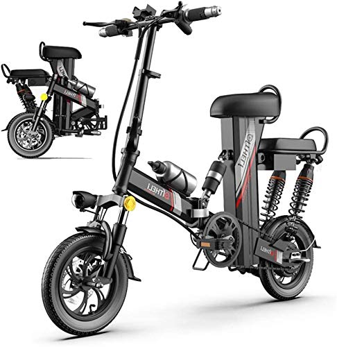 Bicicleta eléctrica de nieve, Bicicleta eléctrica plegable para adultos 3 MODO SMART...