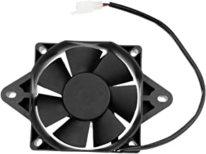 HIAORS ATV Electric Radiator Thermal Cooling Fan for Chinese 200cc 250cc Quad Go Kart Buggy 4 Wheeler UTV