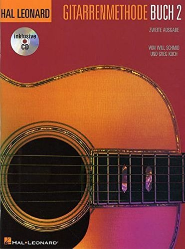 Hal Leonard Guitar Method: Book 2 (German Edition): Noten, Lehrmaterial mit CD: Zweite Ausgabe