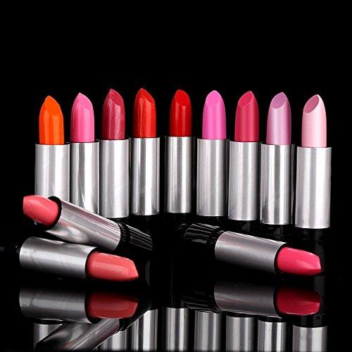 Xgeek 12 colori Variopinto moda rossetti fissato bellezza trucco hanno regolato per Donne Signora Ragazze