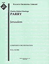 Jerusalem (Composer's orchestration): Full Score (Qty 2) [A8450]