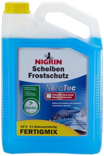 NIGRIN 73948 NanoTec Frostschutz -22°C 3 Liter