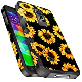 Galaxy S5 Case, Miss Arts Slim Anti-Scratch Protective Kit with [Drop Protection] Heavy Duty Dual Layer Hybrid Sturdy Armor Cover Case for Samsung Galaxy S5 -Sunflower