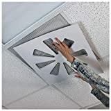 """Wooden Shoe Designs Adjustable Air Conditioning Vent Cover 