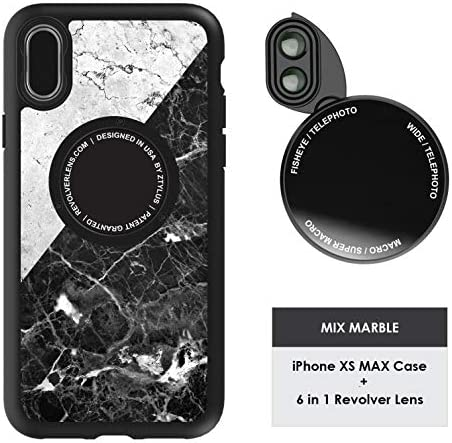 Ztylus Designer Revolver M Series Camera Kit 6 in 1 Lens with Case for iPhone Xs Max iPhone product image