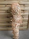 Banda decorativa Manojo de rafia natural (aprox. trenzado 1KG RAFFIA Cinta, lazo