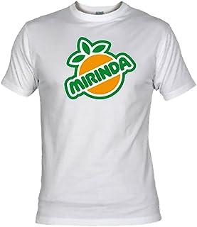 Desconocido Camiseta Mirinda Adulto/niño EGB ochenteras 80´s Retro