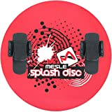MESLE Disc Splash 74, mit B20 Monolasche, Water-Ski Plate, Water-Toy, rot -
