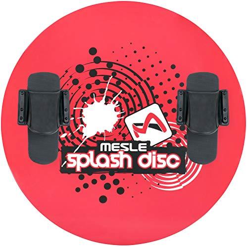 MESLE Disc Splash 74, mit B20 Monolasche, Water-Ski Plate, Water-Toy, rot