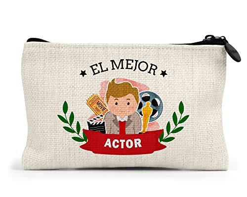 Monedero el Mejor Actor del Mundo Regalo Original actores Cine Teatro Personalizado