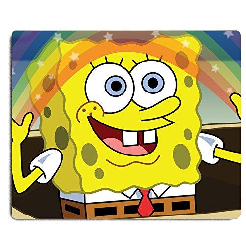 REINDEAR 9.5x8' Cartoon Mouse Pad Mouse Mat US SELLER (SpongeBob SquarePants Rainbow)