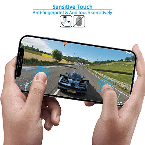 ANEWSIR Kompatibel mit iPhone 12 Mini panzerglas 5.4 Zoll (12 Mini) Schutzfolie (3 Stück)