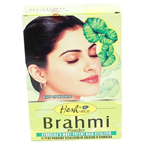 HESH - Poudre ayurvédique de Brahmi - Tonique et anti-âge, elle illumine le teint et...
