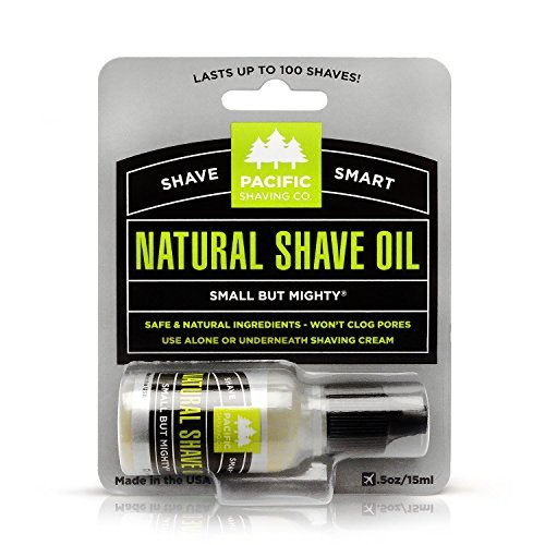 Pacific Shaving Company Natural Shaving Oil - Helps...