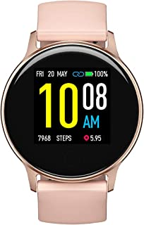 "Reloj inteligente, UMIDIGI Uwatch 2S Fitness Tracker Heart Rate Monitor, Activity Tracker with 1.3"" Touch Screen, 5ATM Waterproof Podómetro Smartwatch Sleep Monitor for iPhone and Android."