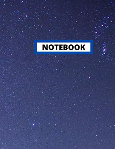Notebook: Notebook Journal Blank Pages , Galaxy Notebook - Large 8.5 x 11 - 110 page