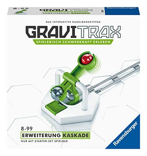 Ravensburger GraviTrax Erweiterung Kaskade - Ideales Zubehör für spektakuläre Kugelbahnen, Konstruktionsspielzeug für Kinder ab 8 Jahren