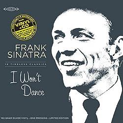 I Won't Dance-LP 30cm Vinyle Argent + CD [Import]