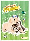 Libro degli amici a scuola per ragazzi e ragazze [Cane & Gatto] Copertina rigida per poesie album disegnato amorevolmente e divertente – dagli amanti dell'apprendimento by Häfft