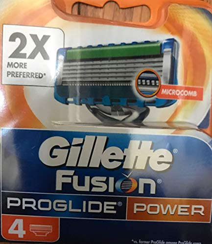 Gillette Fusion Proglide Power–Rasoio, confezione da 6