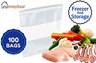 Extra Large Heavy Weight Freezer Zipper Bags 13