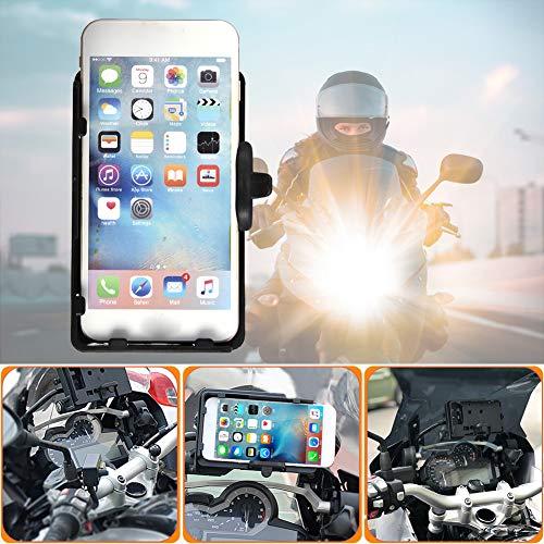 starte Soporte para Soporte De Navegación para Teléfono Móvil con Cargador USB para BMW R1200GS ADV F700 800GS CRF1000L Africa Twin