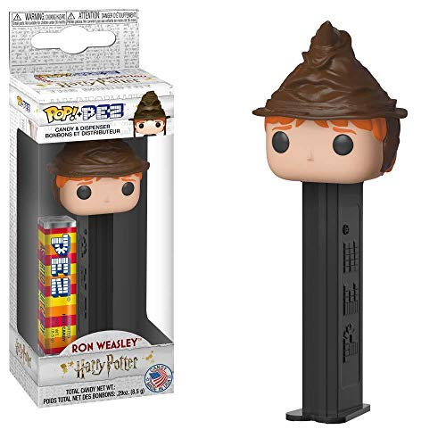 Funko Pop! Pez: Harry Potter - Ron Weasley (Sorting Hat)