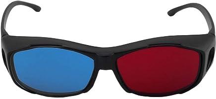 ab803d7000 Kongqiabona Rojo Azul Cian Gafas 3D Tipo Universal Gafas 3D TV Película  Anaglifo Dimensional Marco de